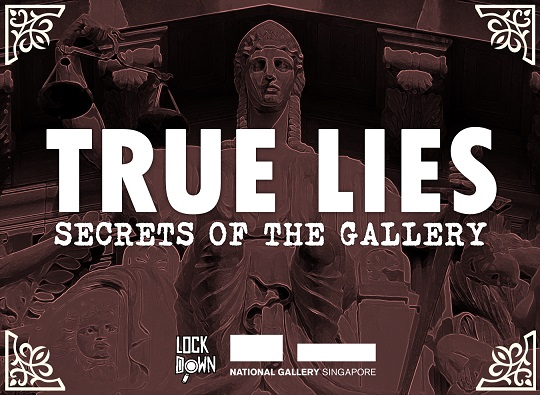 True Lies: Secrets of the Gallery